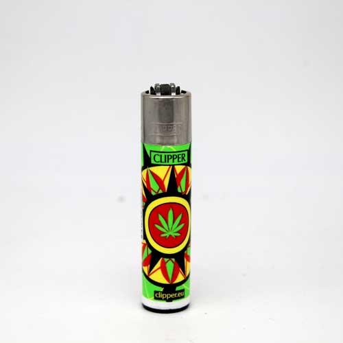 Clipper Feuerzeug Jamaican Mandala by Shibers 2015 D