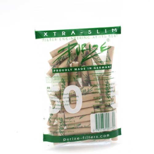 Purize Aktivkohlefilter 5,9mm Organic 50Stk.
