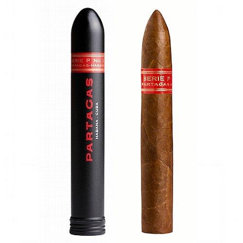 1 Stk. Partagas Zigarre No.2 Serie P Tubos