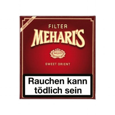 Agio Meharis Zigarillos Filter Red Orient