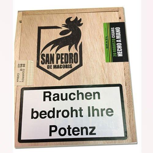 Agio San Pedro de Macoris Brazil  Robusto Cigarren