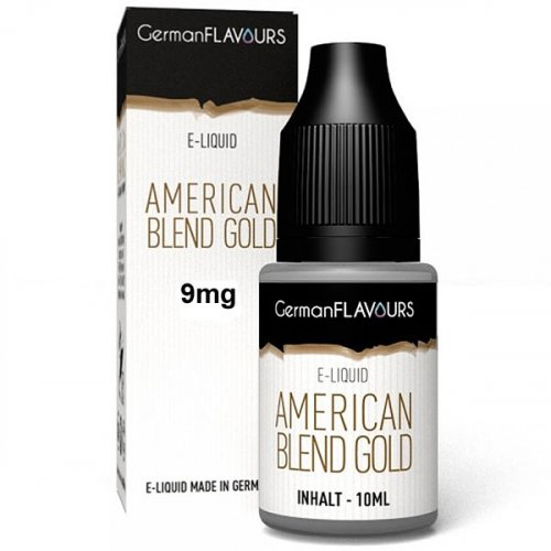 GF American Blend Gold e-Liquid 9 mg Nikotin