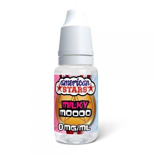 American Stars Milky Moooo Liquid 0 mg