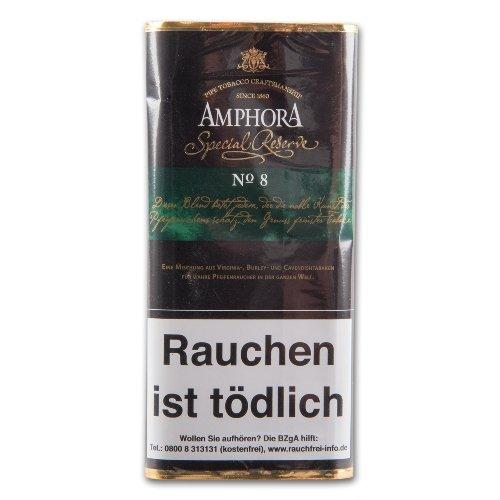 Amphora Pfeifentabak mit Aroma Special Reserve No.8 50g