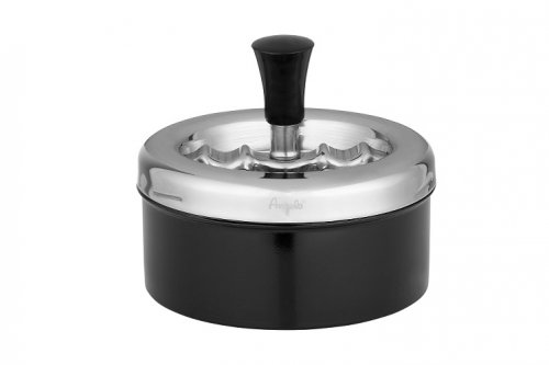 Angelo Drehascher Premium schwarz hochglanz, 11cm