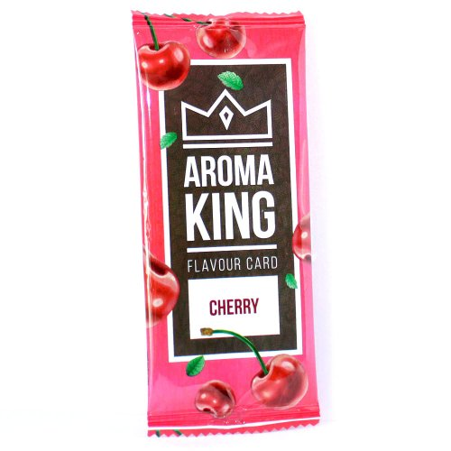 Aroma King Cherry Flavour Card
