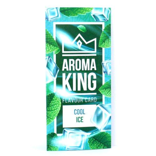 Aroma King Cool Ice Flavour Card