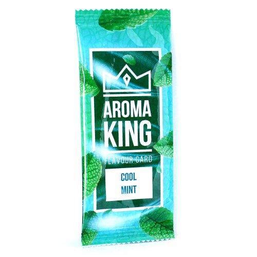 Aroma King Cool Mint Flavour Card
