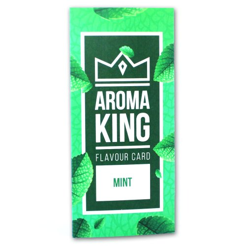 Aroma King Mint Flavour Card