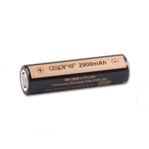 Aspire 18650er Akku Batterie mit 2900 mAh für e-Zigaretten