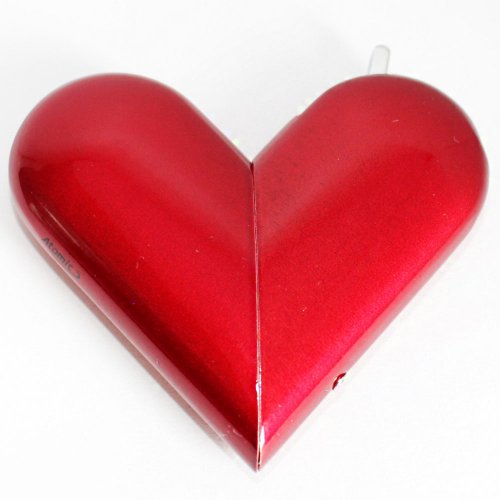 Feuerzeug Atomic Heart Softflame Rot