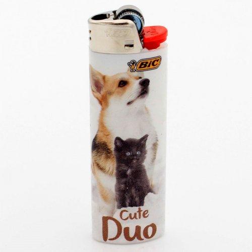 BIC Feuerzeug Best Friends CUTE DUO