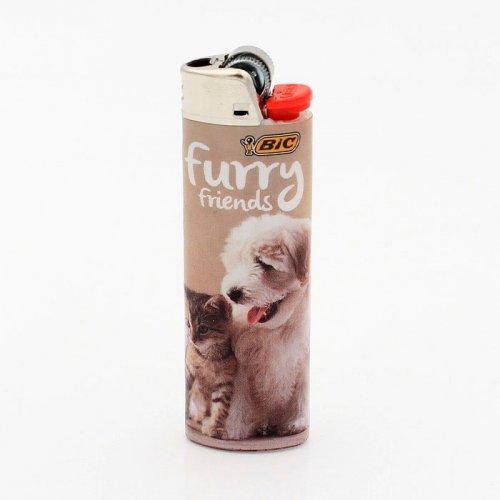 BIC Feuerzeug Best Friends FURRY FRIENDS