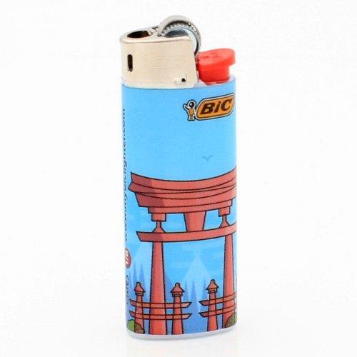 BIC Feuerzeug Mini Cities Hiroshima