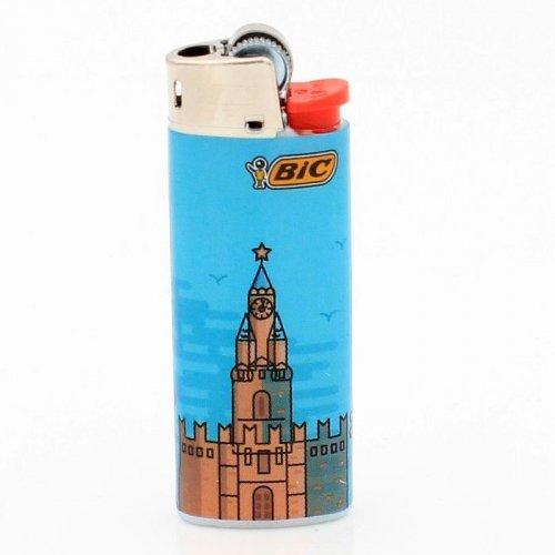BIC Feuerzeug Mini Cities Moskow