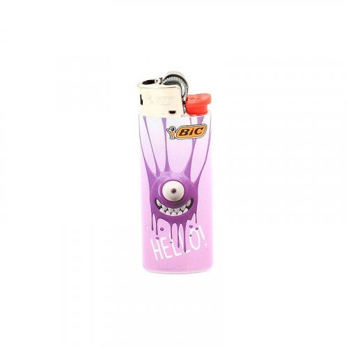 BIC Feuerzeug Mini Sticky Monster HELLO!