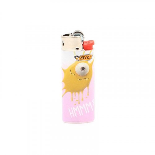 BIC Feuerzeug Mini Sticky Monster HMMM?
