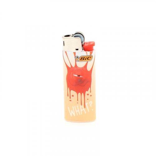 BIC Feuerzeug Mini Sticky Monster WHAT?