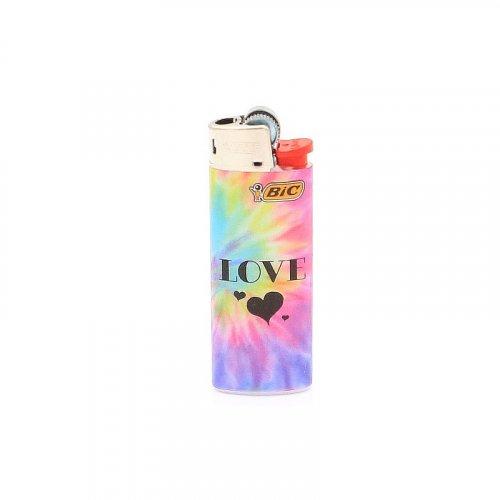 BIC Feuerzeug Mini Tie Dye LOVE