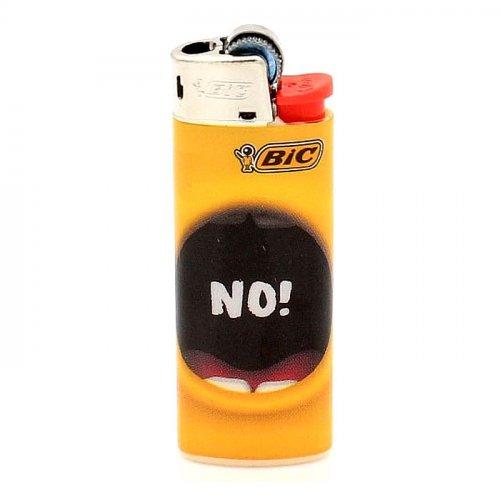 BIC Feuerzeug Mini Yellow Mouth NO!