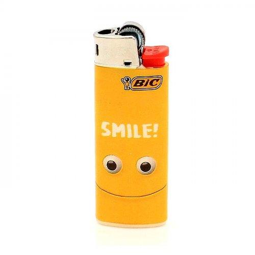 BIC Feuerzeug Mini Yellow Mouth SMILE!
