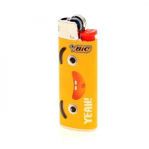 BIC Feuerzeug Mini Yellow Mouth YEAH!