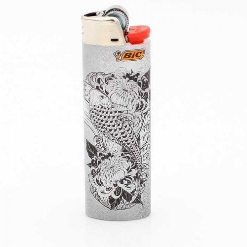 BIC Feuerzeug Tatto Fisch 8v8
