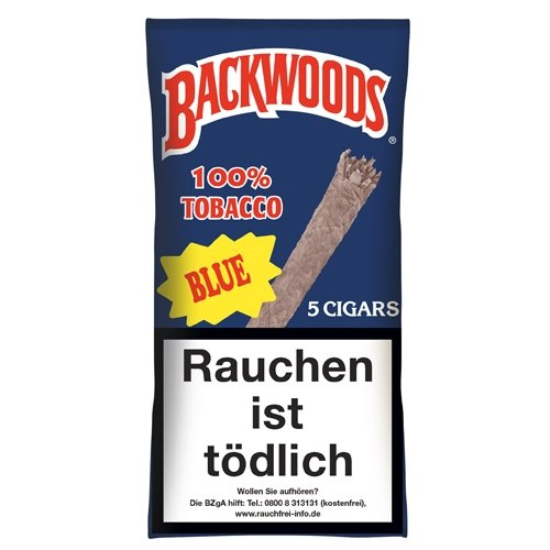 Backwoods Blue 100 % Tobacco