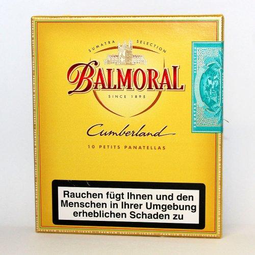 Balmoral Cumberland Petit Panatellas Sumatra Cigarren 10er