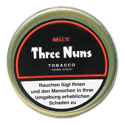 Bell´s Three Nuns None Nicer Pfeifentabak 50g Dose