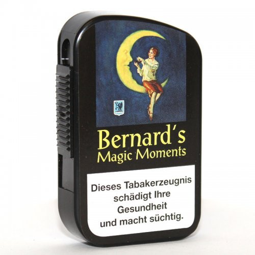 Bernard Schnupftabak Magic Moments Black 10g Dose