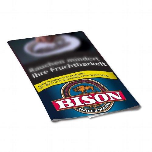 Bison Tabak Halfzware 30g Päckchen Feinschnitt