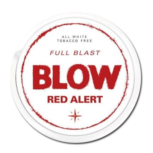 Blow Red Alert All White Slim Nicopods