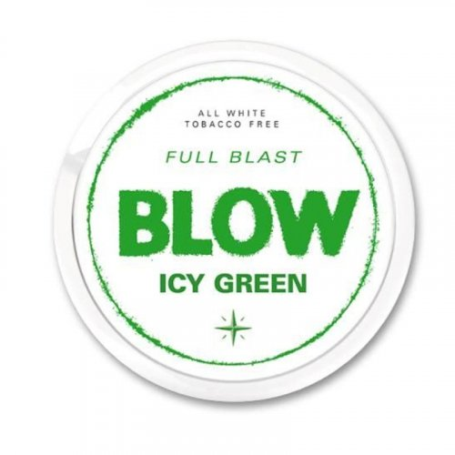 Blow Icy Green All White Slim Nicopods