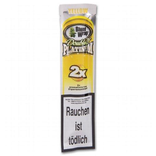 Blunt Wraps Zigarrenumblatt Double Platinum Yellow (Mango)