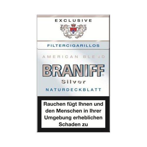 Braniff Filterzigarillos Exclusiv Silver 17er