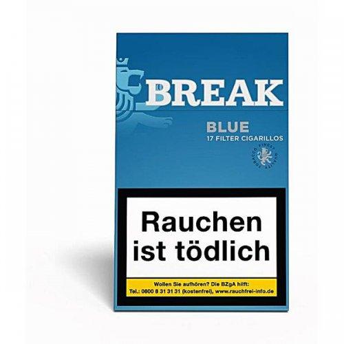 Break Filterzigarillos Blue Fine Flavour 17er
