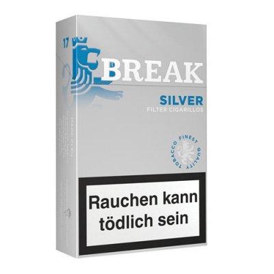 Break Filterzigarillos Silver 17er