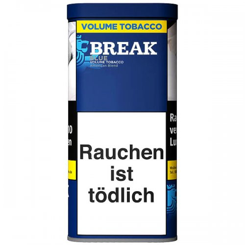 Break Tabak Blau 120g Dose Volumentabak