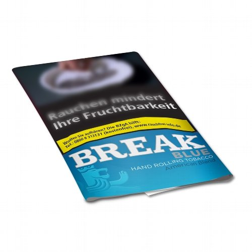 Break Tabak Blau 30g Päckchen Feinschnitt (Artikel wird nicht mehr hergestellt)