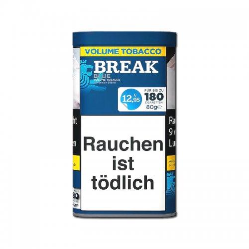 Break Tabak Blau 75g Dose Volumentabak