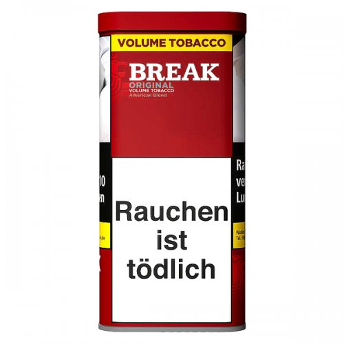 Break Tabak Original Rot 120g Dose Volumentabak