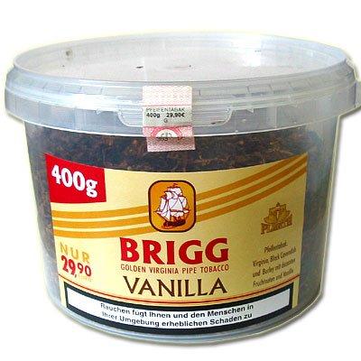 Brigg V Pfeifentabak (ehem. Vanilla) 400g Tabak-Dose