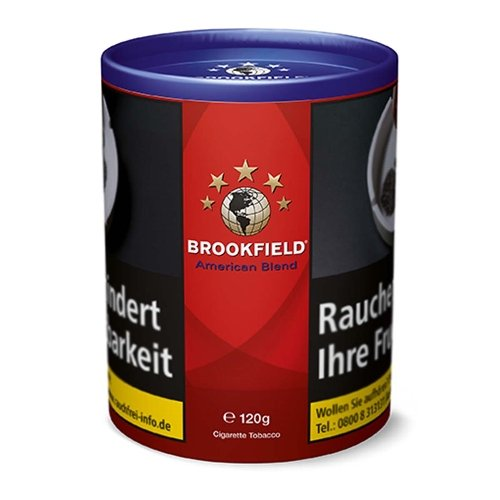 Brookfield Tabak American Blend 120g Dose Zigarettentabak