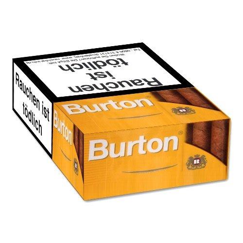 Burton Filterzigarillos Gold Naturdeckblatt