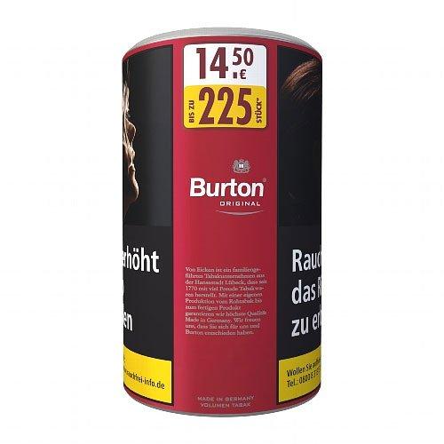 Burton Tabak Rot XXL 95g Dose Volumentabak