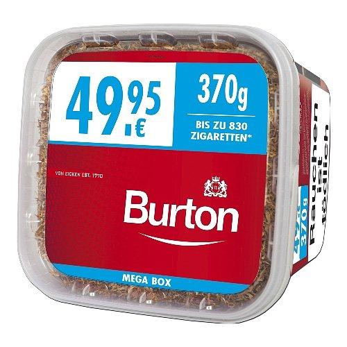 Burton Tabak Rot XXXL 370g Mega Box Volumentabak