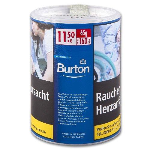 Burton Tabak Fine Blue (White) 65g Dose Volumentabak