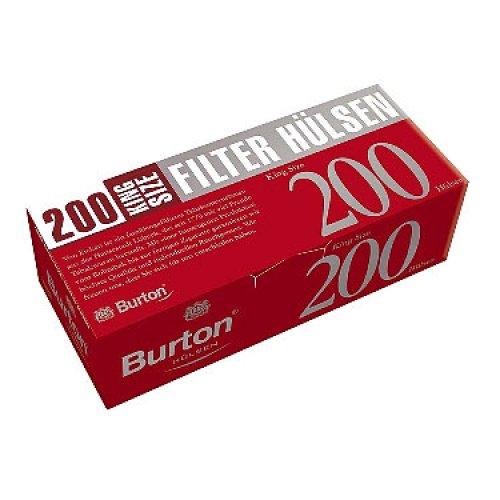Burton Zigarettenhülsen 200 Stück