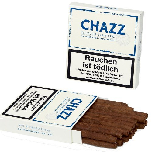 CHAZZ Cigarillos 20er Packung